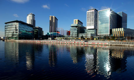 MediaCity on Salford Quays, Manchester