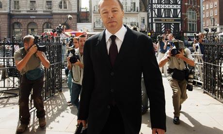 BBC journalist Gavin Hewitt