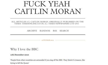 Fuck Yeah Caitlin Moran
