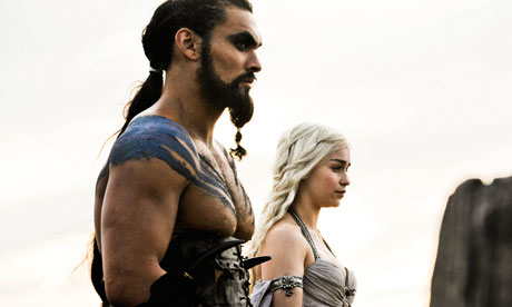 Game Of Thrones episode one: Jason Momoa and Emilia Clarke