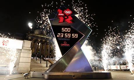 London 2012 Clock