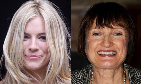 Sienna Miller and Tessa Jowell