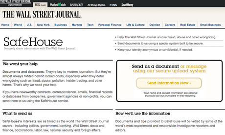 Wall Street Journal – SafeHouse