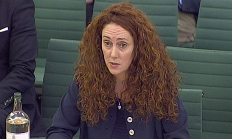Rebekah Brooks gives evidence on phone hacking