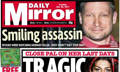 Daily mirror publisher to review editorial controls media the