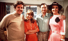 The Good Life: Richard Briers, Felicity Kendal, Paul Eddington and Penelope Keith