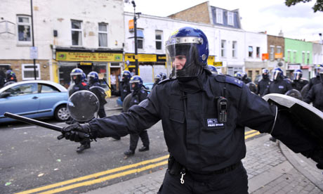 London riots: Hackney