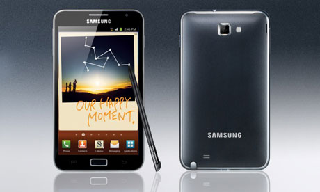 Samsung launches Galaxy Note and Galaxy Tab 7.7