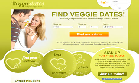 Veggie dating app