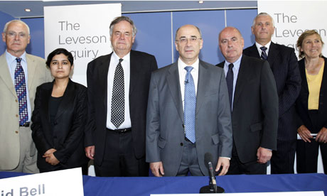 Leveson inquiry panel