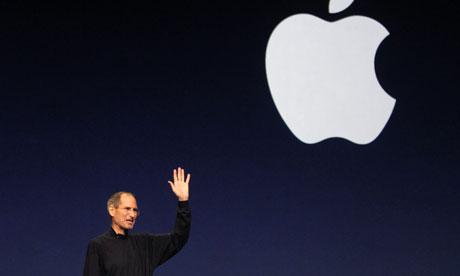 Steve Jobs at Pad 2 launch