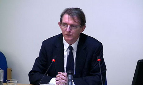 Leveson inquiry: Tony Gallagher