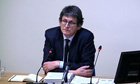 Leveson inquiry: Ian Hislop, Alan Rusbridger, James Harding appear