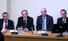 Leveson inquiry: John McLellan, Spencer Feeney, Johnathan Russell, Michael Gilson