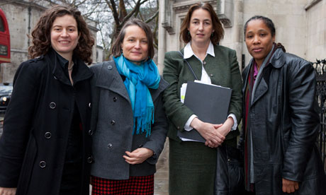 Leveson inquiry: Anna van Heeswijk, Jacqui Hunt, Heather Harvey and Marai Larasi