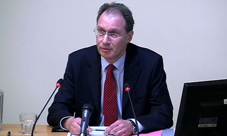 Leveson inquiry: Jonathan Grun