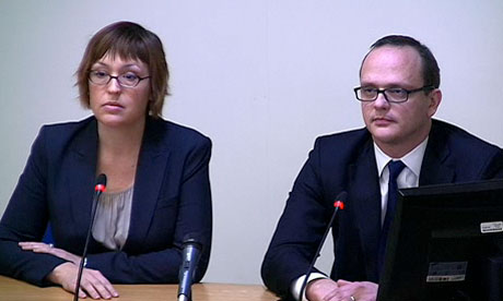 Leveson inquiry: Daphne Keller and David-John Collins