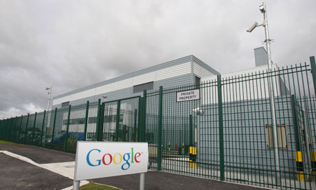 Google's new data centre in Dublin: the internet giant could be forced to unravel its privacy policy. Photograph: Niall Carson/PA
