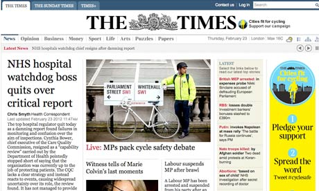 Times screengrab 23 Feb