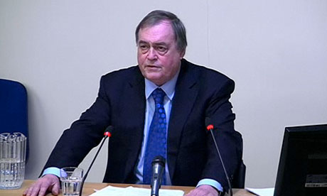 Leveson inquiry: Lord Prescott