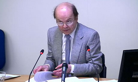 Leveson inquiry: Chris Jefferies