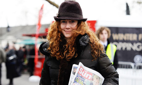 Rebekah Brooks at Newbury Races