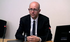 Leveson inquiry: Sean O'Neill