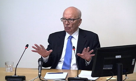 Rupert Murdoch Day 2 Leveson