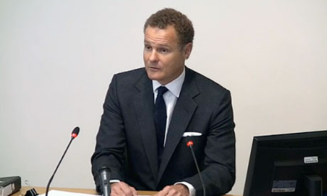 Leveson inquiry: Viscount Rothermere