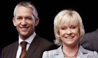 Gary Lineker and Sue Barker