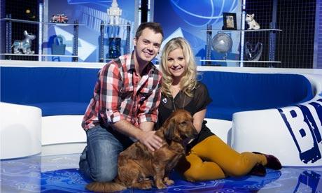 Blue Peter: Barney Harwood and Helen Skelton