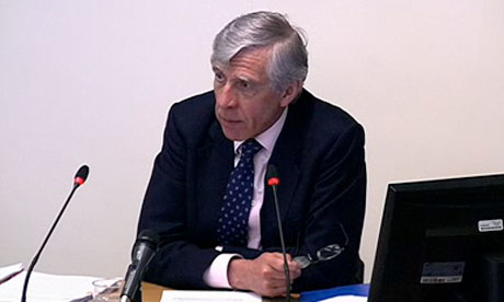 Leveson inquiry: Jack Straw