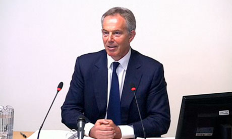 Leveson inquiry: Tony Blair