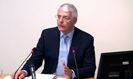 Leveson inquiry: Sir John Major