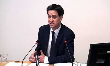 Leveson inquiry: Ed Miliband
