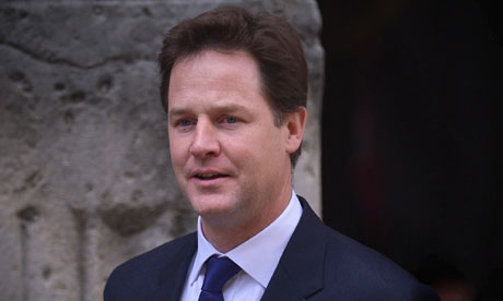 Leveson inquiry: Nick Clegg