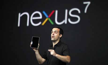 Google Nexus 7 launch: Hugo Barra