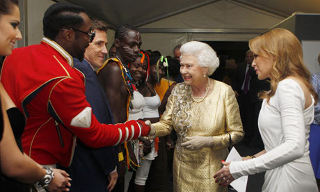 will.i.am and Queen Elizabeth