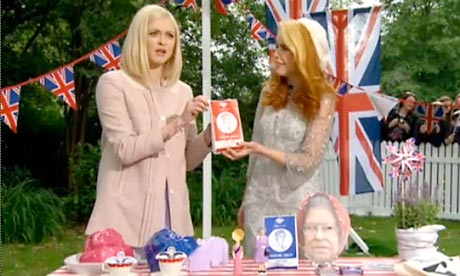 Queen's diamond jubilee: fearne Cotton and Paloma Faith