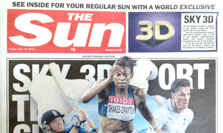 The Sun - 13 July 2012