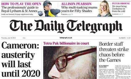 Opiniones de The Daily Telegraph
