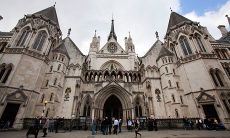 Royal Courts of Justice - high court