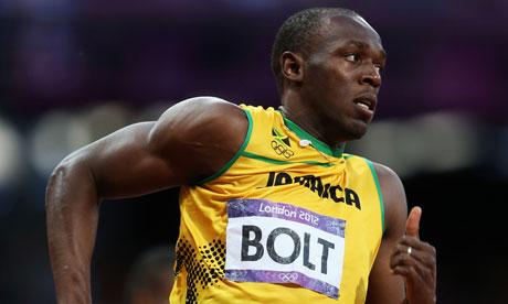 London 2012: Usain Bolt 200m