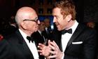 Rupert Murdoch and Damian Lewis