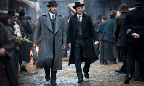 Ripper Street: Matthew Macfadyen and Jerome Flynn