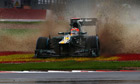 Formula One: Heikki Kovalainen in the British Grand Prix