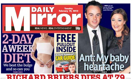 Daily Mirror - February 2013