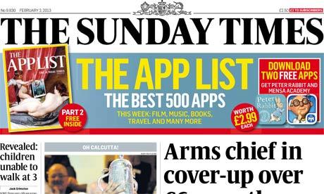 Sunday Times - February 2013