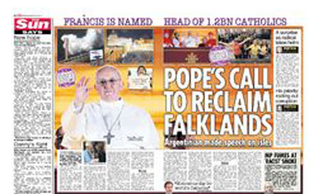 Sun Pope spread