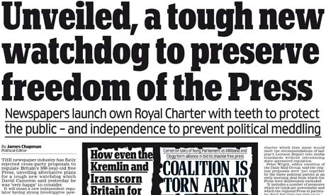 Daily Mail headline on royal ch